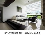 interior design series  modern... | Shutterstock . vector #102801155