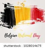 holiday background  for belgian ... | Shutterstock .eps vector #1028014675