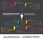 minimalist company organization ... | Shutterstock .eps vector #1028015992