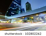 urban city with car light | Shutterstock . vector #102802262