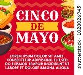 cinco de mayo mexican... | Shutterstock .eps vector #1028026945