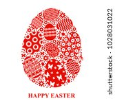 vector illustrations of easter... | Shutterstock .eps vector #1028031022