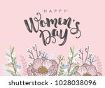 international womens day... | Shutterstock .eps vector #1028038096