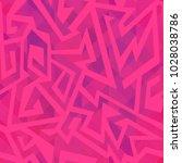 pink geometric seamless pattern ...   Shutterstock .eps vector #1028038786