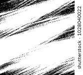 grunge halftone black and white ... | Shutterstock . vector #1028040022