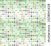 abstract colorful pattern for... | Shutterstock . vector #1028041618