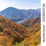 nakatsugawa gorge from view... | Shutterstock . vector #1028043136