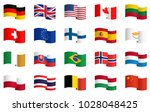 little collection of famous... | Shutterstock .eps vector #1028048425