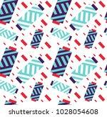 thread spool set background.... | Shutterstock .eps vector #1028054608