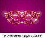 purple pink and gold velvet... | Shutterstock . vector #1028061565