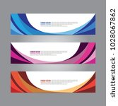 abstract web banner design... | Shutterstock .eps vector #1028067862