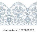 horizontally seamless white... | Shutterstock .eps vector #1028072872