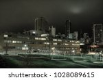 Urban Night Scenery With A...