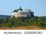 view to the historic castle... | Shutterstock . vector #1028090242