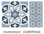 vintage tiles patterns antique... | Shutterstock .eps vector #1028095666