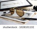 eyewear sunglasses photography | Shutterstock . vector #1028101132
