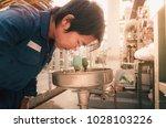 men were exposed to chemicals... | Shutterstock . vector #1028103226