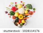 flat lay composition of...   Shutterstock . vector #1028114176