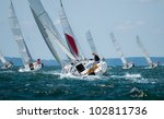 Women Sailing At Regatta