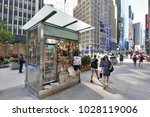 new york city  usa   aug. 24 ... | Shutterstock . vector #1028119006