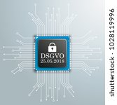 german text dsgvo  translate... | Shutterstock .eps vector #1028119996