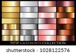 gold silver rose bronze... | Shutterstock .eps vector #1028122576