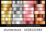 gold silver rose bronze... | Shutterstock .eps vector #1028122582