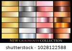gold silver rose bronze... | Shutterstock .eps vector #1028122588