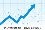 stock market diagram | Shutterstock .eps vector #1028134018