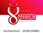 women's day   8 march.... | Shutterstock .eps vector #1028134882