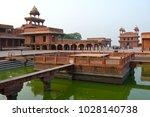 fatehpur sikri  india  ... | Shutterstock . vector #1028140738