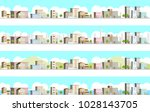 3d landscape of the city | Shutterstock .eps vector #1028143705