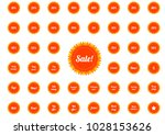 huge collection of isolated... | Shutterstock .eps vector #1028153626