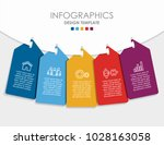 infographic template. vector... | Shutterstock .eps vector #1028163058