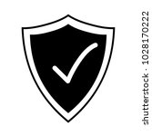secure icon. protective shield...   Shutterstock .eps vector #1028170222