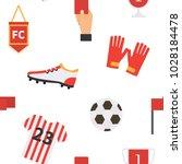 soccer football seamless... | Shutterstock .eps vector #1028184478