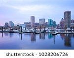 downtown city skyline and inner ... | Shutterstock . vector #1028206726