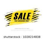 sale banner layout design | Shutterstock .eps vector #1028214838