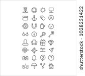 icon vector set question office ...