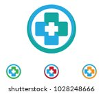 hospital logo and symbols | Shutterstock .eps vector #1028248666