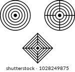 target icon  target board... | Shutterstock .eps vector #1028249875