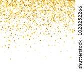 yellow  golden and gold circles ... | Shutterstock .eps vector #1028252266