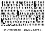 big set of black women...   Shutterstock .eps vector #1028252956