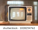 classic vintage retro style old ... | Shutterstock . vector #1028254762