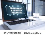 enterprise resource planning... | Shutterstock . vector #1028261872