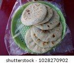 pupusas typical of el salvador... | Shutterstock . vector #1028270902