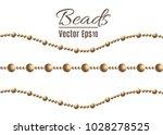 a beautiful chain of golden... | Shutterstock .eps vector #1028278525