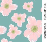 spring  summer  flowers vector... | Shutterstock .eps vector #1028284618