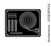 audio mixer icon | Shutterstock .eps vector #1028285416