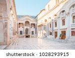 split  croatia   july 11  2017  ... | Shutterstock . vector #1028293915
